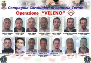 operazione Veleno 2014