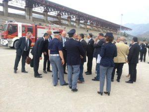 Sopralluogo a Cassano per la visita del Papa