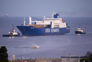Sirya chemical weapons: Danish ship Ark Futura  in Gioia Tauro