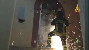 Incendio in abitazione ad Acri