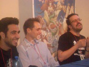 Danilo Sirianni e Salvatore Capolupo autori di un web fumetto interattivo di nome ZED
