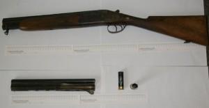 Sequestrato fucile usato per ferire un cane