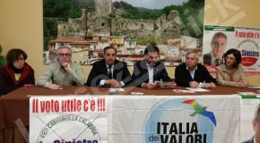 """Regionali, Messina (IdV) a Lamezia. """"Bisogna passare dalle mani dei disonesti a quelle degli onesti"""""""