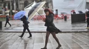 Pioggia e vento forte in Calabria. Brusca riduzione temperature, in montagna si attende la neve