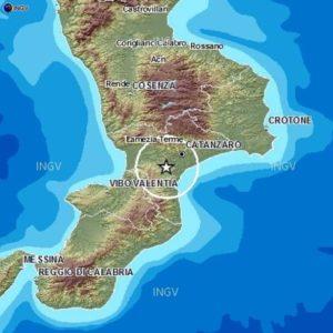 Tre scosse di terremoto in Calabria