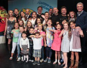 Bambini cantanti 57/o Zecchino d'Oro 2014 - foto gruppo