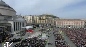 Il Papa: Chiesa di Napoli, va e accogli! Napoletani largo alla speranza! Criminali lasciatevi abbracciare da Gesù!