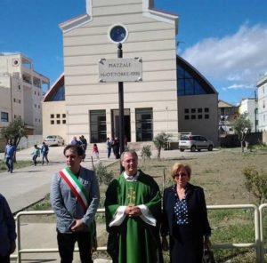 Inaugurata a Crotone piazza intitolata a vittime alluvione del 1996