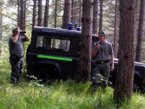 Uomini del Corpo Forestale dello Stato