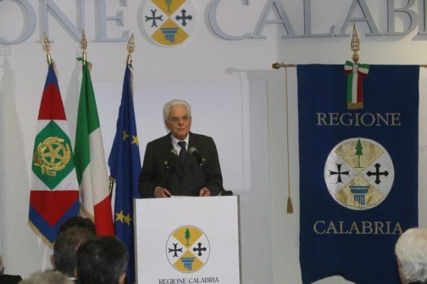 Mattarella inaugura nuova sede uffici Catanzaro