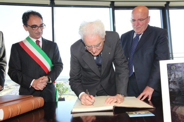 Mattarella inaugura la sede della Regione