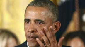 """""""Il dono delle lacrime"""" di Barack Obama"""