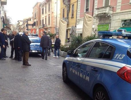 Rapina in banca a Cosenza