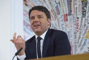 ++ Renzi, il 22 dicembre inaugureremo la SA-RC ++