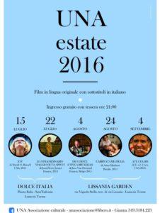 Manifesto UNA estate 2016