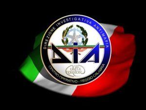 'Ndrangheta: logo Dia Reggio Calabria