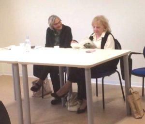 Lina Latelli e Ippolita Luzzo