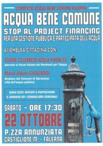 Locandina evento 22 ottobre