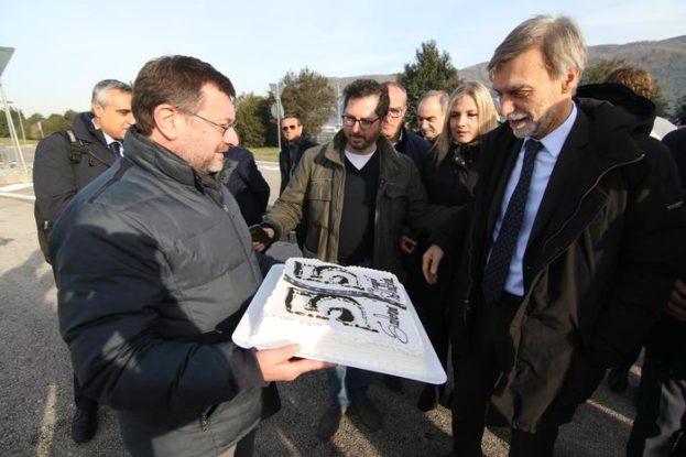 Presentazione del completamento dell'Autostrada Salerno-Reggio Calabria