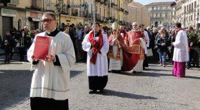 Le celebrazioni della Settimana Santa presiedute dal Vescovo Luigi Cantafora