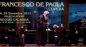 """Al via prevendita per colossal """"Francesco De Paula l'Opera"""", in prima assoluta a novembre a Reggio"""