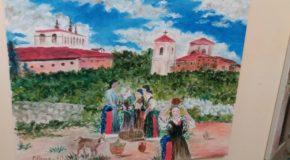 Fino al 25 maggio mostra di Cinzia Renda a Palazzo Nicotera. Tra Costabile e l'indimenticabile fratello Gianni