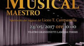 """""""Ma che musical maestro"""", domani studenti del Liceo Campanella in scena al Grandinetti con Giò Di Tonno"""