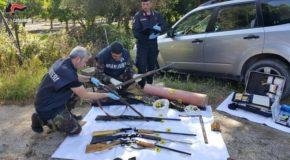 Sequestrate armi e coltivazione canapa. Scoperte dai militari durante servizi controllo