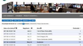 Falso allarme sisma, errore tecnico Ingv. Scossa di magnitudo 1.6 e non 5.1 in provincia di Macerata