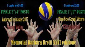 """Si conclude oggi il """"Memorial Barbara Bretti"""""""