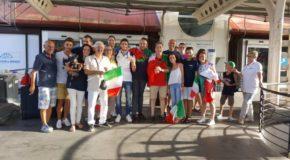 La medaglia di bronzo ai mondiali di tuffi, Giovanni Tocci, è tornato a casa