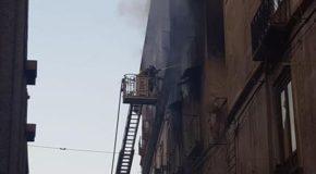 Incendio in casa nel centro storico di Cosenza, 3 vittime