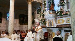 Migliaia di pellegrini a Conflenti nel giorno conclusivo della festa della Madonna della Quercia