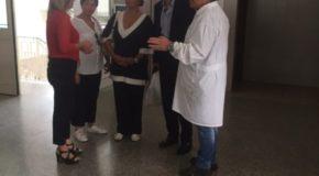 Il gruppo consiliare di Lamezia Unita in visita al mercato coperto di Nicastro
