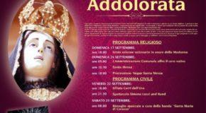 Pianopoli, partono domani i festeggiamenti in onore della Madonna Addolorata. Domenica il concerto dei The Kolors