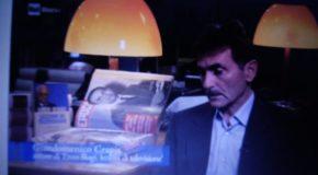 Lo storico della televisione Giandomenico Crapis tra i protagonisti del programma Rai per ricordare Enzo Biagi