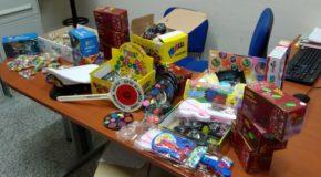 Polizia Locale sequestra luminarie, giocattoli pericolosi ed altri oggetti