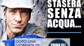 """Gianturco (Identità Nazionale): """"Vergognosa riduzione acqua. Commissari trovino soluzioni"""""""