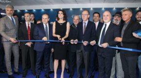 Sanremo 2018, Affidato inaugura Casa Sanremo con Elisa Isoardi e le autorità sanremesi