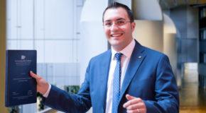 Francesco Foglia, giovane economista dell'Unical, sarà insignito della menzione speciale per temi economici del Premio per Studi sull'Europa intitolato a Helen Joanne Cox