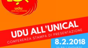 Nasce l'Unione degli Universitari Unical. L'8 febbraio la presentazione ufficiale