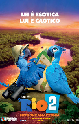 RIO 2 (NO 3D) - MISSIONE AMAZZONIA